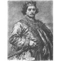 Bolesław II Śmiały wersja czarno-biała