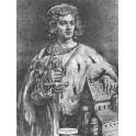 Bolesław IV Kędzierzawy wersja czarno-biała