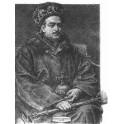 Kazimierz IV Jagiellończyk wersja czarno-biała