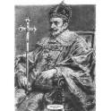 Zygmunt III Waza wersja czarno-biała