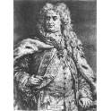 August II Mocny wersja czarno-biała