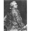 Stanisław August Poniatowski wersja czarno-biała