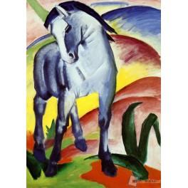 Błękitny koń