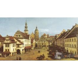Rynek w Pirnie