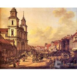 Krakowskie Przedmieście od strony Nowego Światu