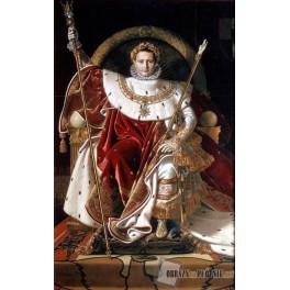 Napoleon I na tronie cesarskim
