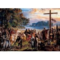 Zaprowadzenie chrześcijaństwa R.P. 965.