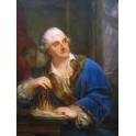 Portret Stanisława Augusta Poniatowskiego z klepsydrą