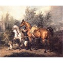 Masztalerz z końmi Działyńskich w kórniku