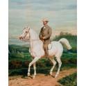 Portret konny hr. Adama Potockiego