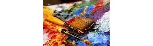 R cznie malowane obrazy na p tnie for Peindre du plastique
