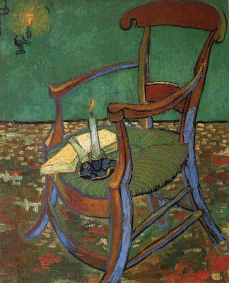 Vincent van Gogh - Paul Gauguin's Chair