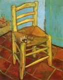 Vincent van Gogh - Vincent's Chair with his Smoking Pipe