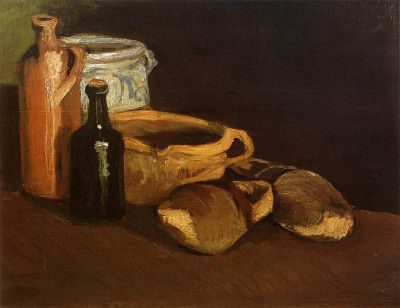 Vincent van Gogh - Still Life with Clogs and Pots, Nuenen