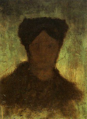 Vincent van Gogh - Peasant, Head (unfinished), Nuenen