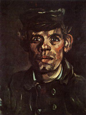 Vincent van Gogh - Young Peasant's Head of a Young Peasant with Cap Pala, Nuenen