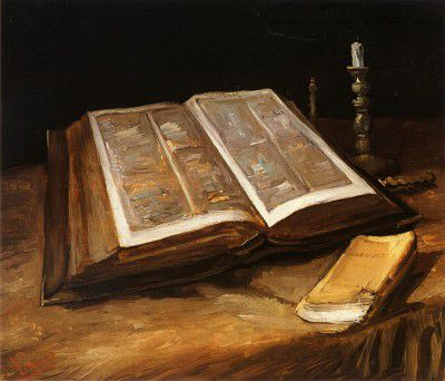 Vincent van Gogh - Still Life with Bible, Nuenen