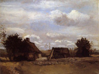 Vincent van Gogh - Cottage, Nuenen