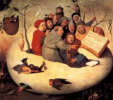 Bosch Hieronymus - the concert in the egg