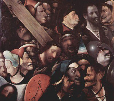 Bosch Hieronymus - the carrying of the cross
