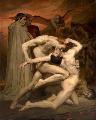 Bouguereau, Adolphe William - Dante and Virgile