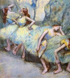Degas Edgar - ballet dancers in the wings