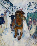 Edvard Munch - Galloping Horse
