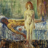 Edvard Munch - The Death of Marat II
