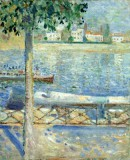 Edvard Munch - The Seine at Saint-Cloud