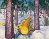 Edvard Munch - The Yellow Log