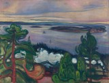 Edvard Munch - Train Smoke