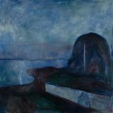 Edvard, Munch - Starry Night