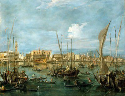 Guardi, Francesco - Venice from the Bacino di San Marco