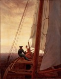 Fredrich, Caspar David - On a Sailing Ship