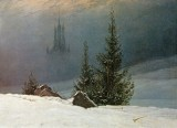 Friedrich, Caspar David - Winter Landscape with church