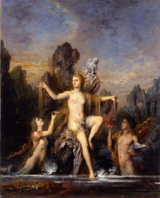 Moreau, Gustave - Venus Rising from the Sea