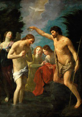 Reni, Guido - The Baptism of Christ