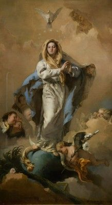 Tiepolo Giambattista - The Immaculate Conception