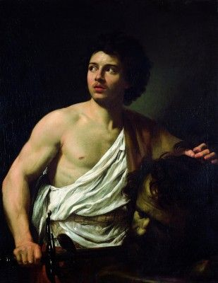 Vouet, Simon - David with the Head of Goliath_2