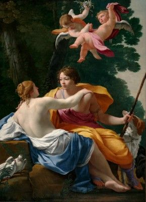 Vouet, Simon - Venus and Adonis_2