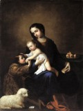 Zurbaran, Francisco de - The Virgin and Child with the Infant St John the Baptist