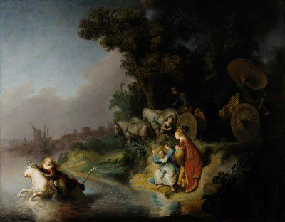 Rembrandt Harmensz van Rijn - The Abduction of Europa