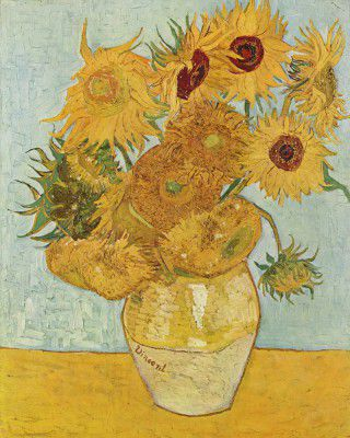 Vincent Willem van Gogh - Still Life Vase with Twelve Sunflowers