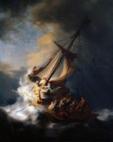 Rembrandt Harmensz. van Rijn - the Storm on the Lake of Galilee